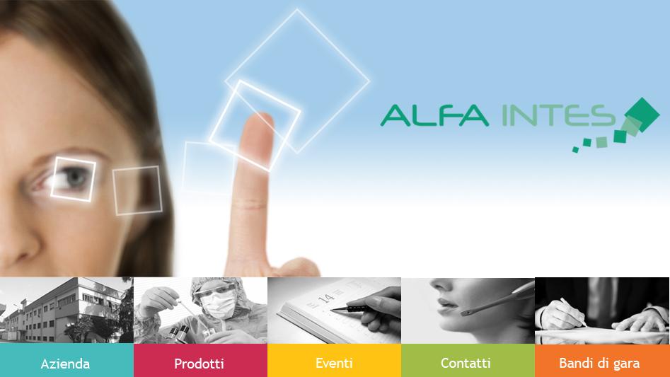 Logo della marca Alfa intes
