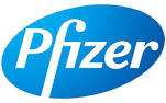 Logo della marca Pfizer italia div.consum.healt