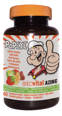 ArkoVital Azinc Caramelle Gommose con 9 Vitamine