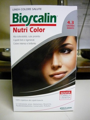 Bioscalin Nutricolor 4.3 Castano Dorato, con Sincro Biogenina