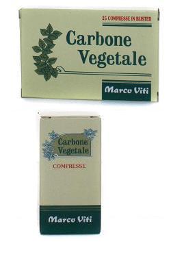 Carbone Vegetale 40 compresse