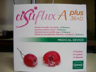 Cistiflux A plus + D-mannosio