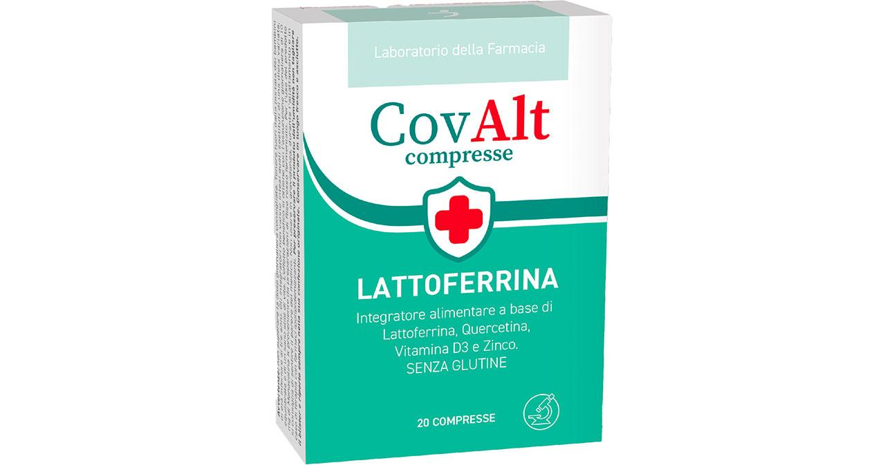 CovAlt compresse lattoferrina