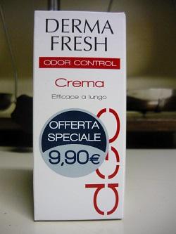 DERMAFRESH deodorante in crema da 30ml