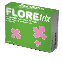Floretrix 10 bustine, probiotico con vitamine