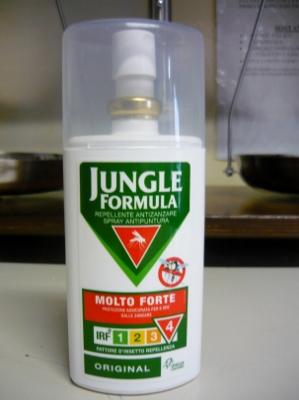JUNGLE formula molto forte spray originale 75ml - ANTIZANZARE