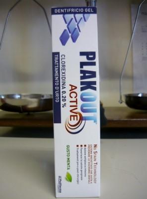 PlakOut Active dentifricio alla clorexidina 0,20%