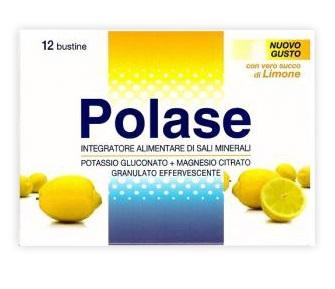 POLASE Gusto Limone 12 bustine POTASSIO - MAGNESIO