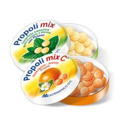 Propoli Mix Balsamico Menta Eucalipto caramelle per la gola