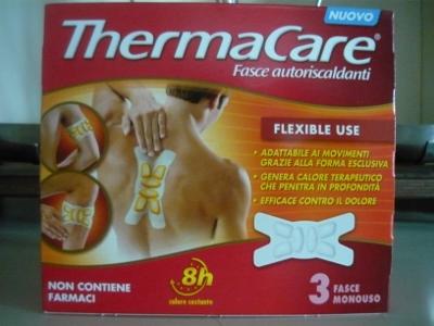 Thermacare Flexible Use, 3 fasce autoriscaldanti flessibili