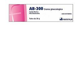 AB 300 crema ginecologica per prurito, secchezza, bruciore.