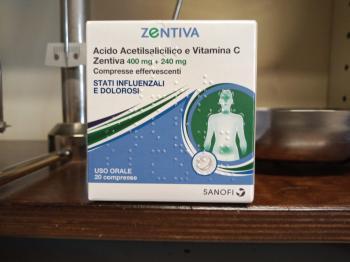 Acido AcetilSalicilico con Vitamina C 20 compresse effervescenti