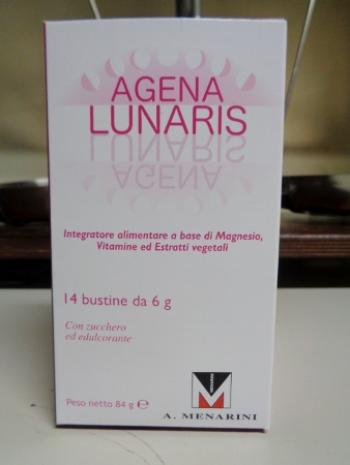 AGENA LUNARIS, integratore per la sindrome pre mestruale