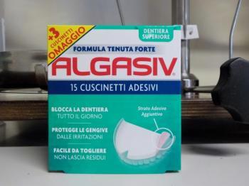 Algasiv Cuscinetti Adesivi per Dentiera Superiore
