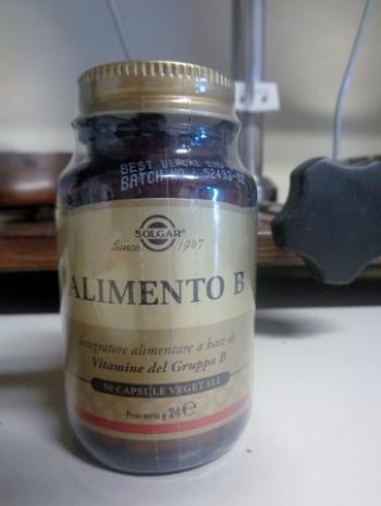 ALIMENTO B, integratore alimentare di Vitamina B