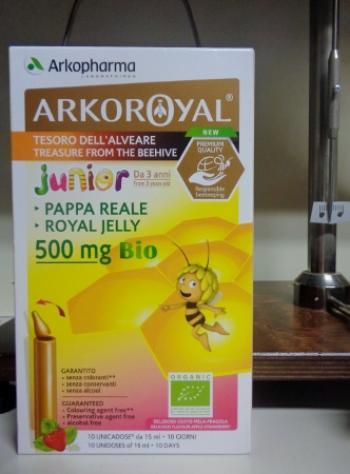Arko Royal Pappa Reale Bio Junior Royal Jelly 500 mg