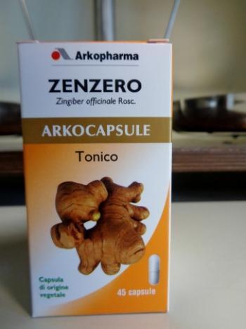 ArkoCapsule Zenzero Tonico