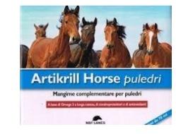 Artikrill Horse flacone Puledro, confroprotettore