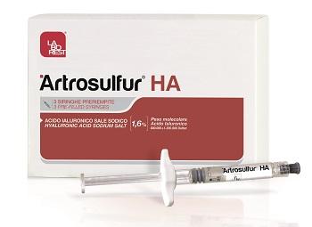 Artrosulfur HA siringa 1,6% 2 ml 3 siringhe