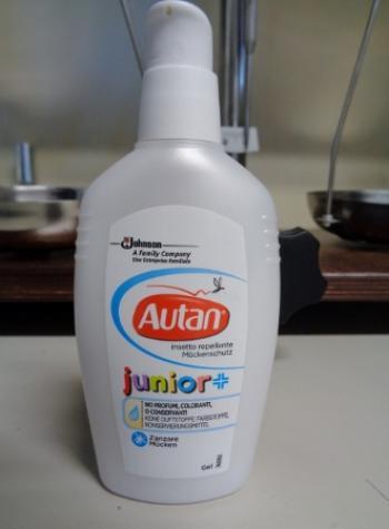 Autan Family Care Junior insetto repellente in GEL da 100ml