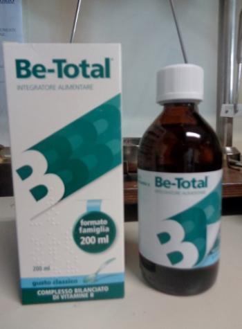 Be-Total sciroppo 200 ml Gusto Classico