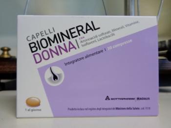 BIOMINERAL DONNA compresse, integratore per capelli