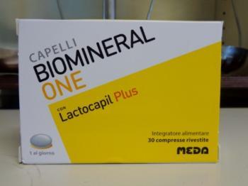 Biomineral One Lacto Plus, integratore per unghie e capelli