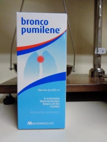 Broncopumilene sciroppo fluidificante della tosse