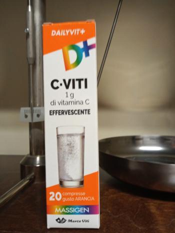 DailyVit+ Viti Vitamina C 1 Grammo