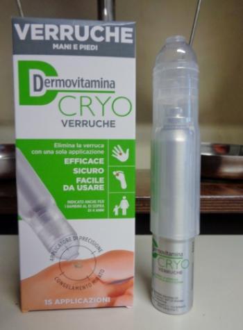 Dermovitamina CRYO Verruche