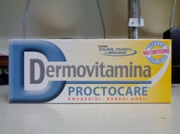 Dermovitamina Proctocare, crema per le emorroidi