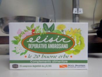 Elisir Depurativo Ambrosiano 20 compresse