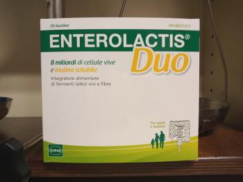 Enterolactis Duo probiotico con fibra