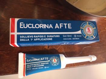 Euclorina Afte Gel
