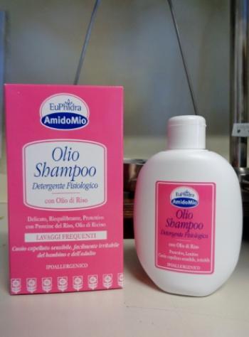 Euphidra Amidomio Olio Shampoo con Olio di Riso