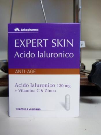 Expert Skin, acido ialuronico 30 capsule