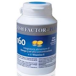 FISH FACTOR PLUS, integratore di OMEGA 3, 160 perle piccole