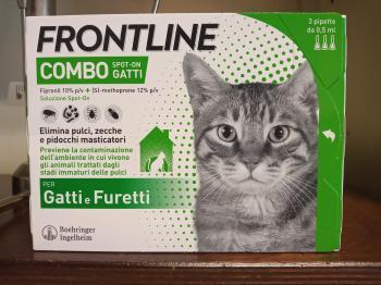 Frontline Combo Spot-On Gatti Furetti 3 pipette