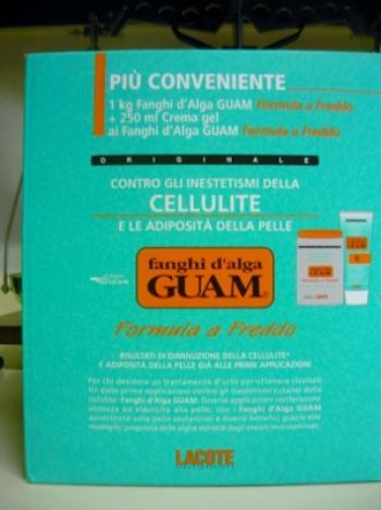 GUAM FANGHI 1KG con crema gel freddo 250ml, formula a freddo