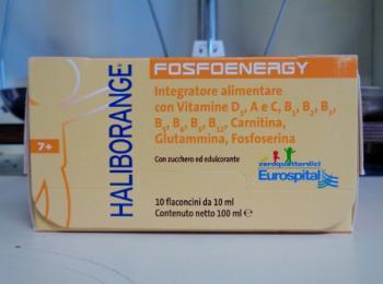 Haliborange FosfoEnergy flaconcini, energia fisica e mentale