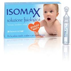 ISOMAX Soluzione Fisiologica 20 flaconcini da 0,5ml