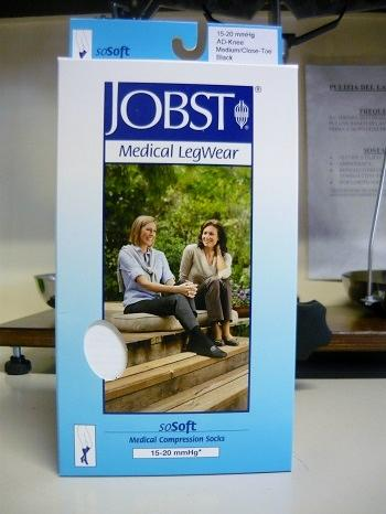 Jobst Sosoft 15-20 mmHg Coste, calze a compressione Large
