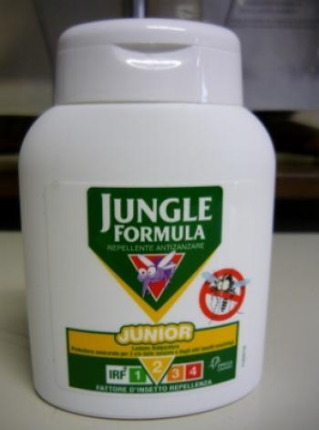 JUNGLE formula junior lozione originale 125ml - ANTIZANZARE