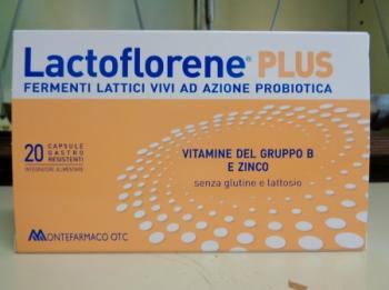 Lactoflorene Plus 20 capsule