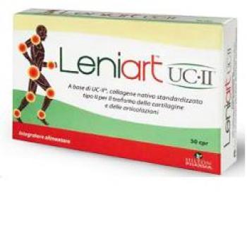 LENIART UC.II, integratore per la funzionalità delle cartilagini