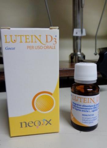 Lutein D3 gocce, integratore alimentare