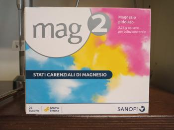 MAG 2 Bustine 2,25 grammi, polvere per soluzione orale
