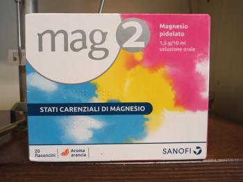 MAG 2 Fiale orali 1,5 g - 10 ml, soluzione orale