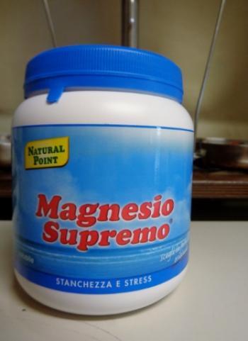 Magnesio Supremo polvere solubile formato 300 grammi