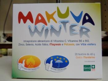 Makuva Winter 20 bustine, integratore Sistema Immunitario